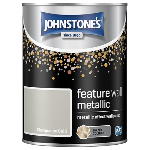 Feature Wall Metallic Paint